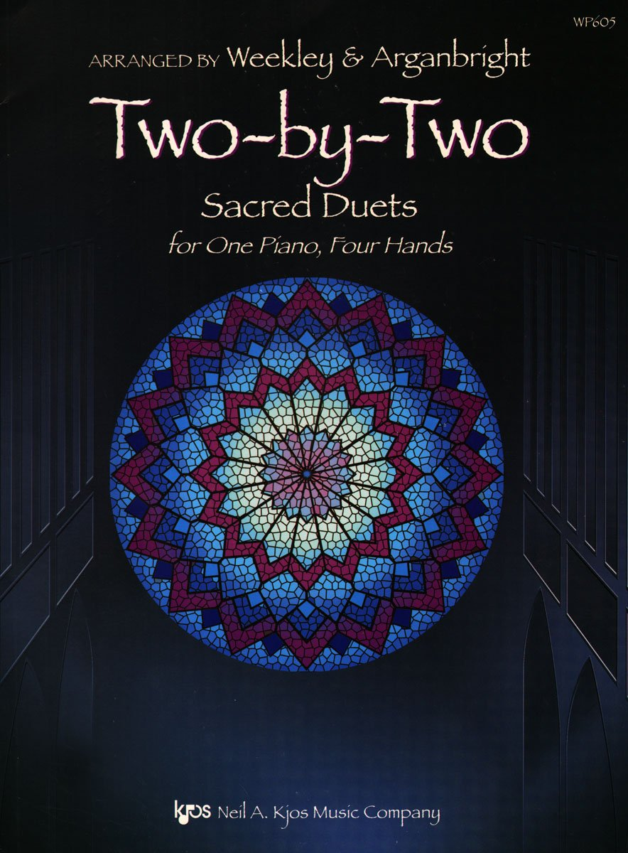 Download WP605 - Two by Two - Sacred Duets for One Piano, Four Hands pdf
