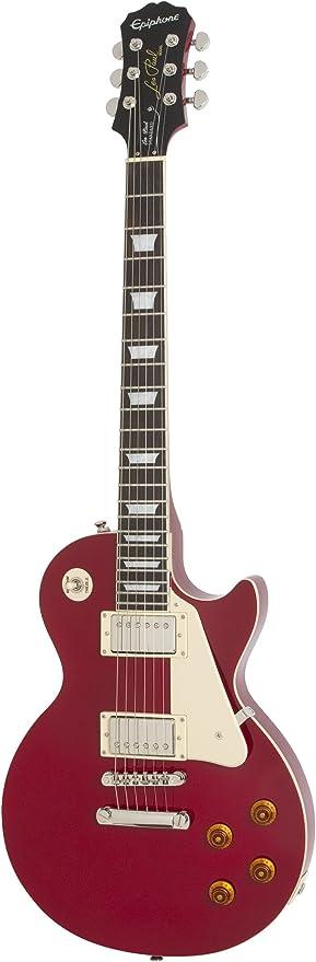 Epiphone Les Paul Standard - Guitarra eléctrica, color cardinal ...