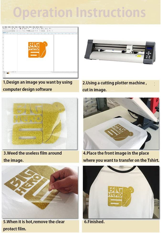 HOHO 50 cm x 30 cm purpurina morado Easyweed transferencia de calor vinilo hierro sobre papel para camisetas Cricut para camisetas, tela: Amazon.es: Hogar