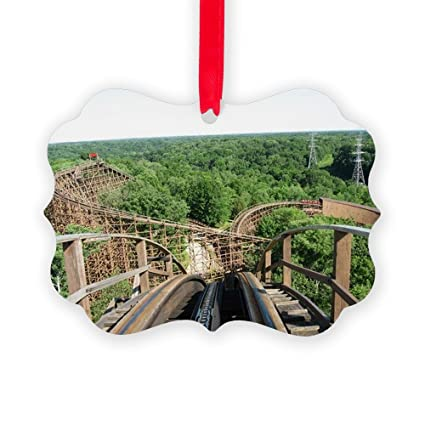 CafePress - Kings Island Beast Roller Coaster - Christmas Ornament,  Decorative Tree Ornament - Amazon.com: CafePress - Kings Island Beast Roller Coaster