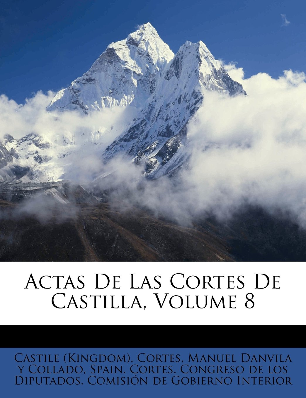 Download Actas De Las Cortes De Castilla, Volume 8 (Spanish Edition) PDF