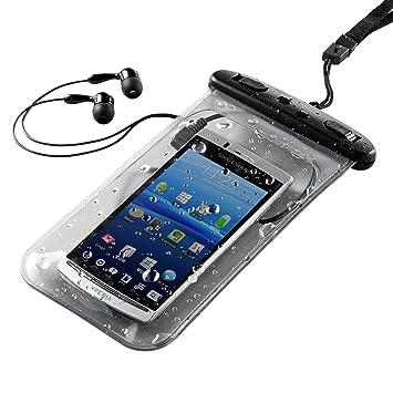 89a7cdfaaf サンワダイレクト 防水ケース イヤホン付き iPhone6s iPhone6 スマートフォン 対応 200-PDA044