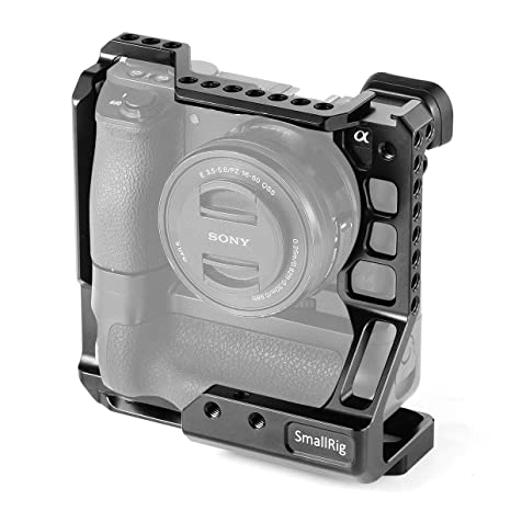 SMALLRIG A6500 Cage Jaula para Sony A6000/A6300/A6500 Compatible ...