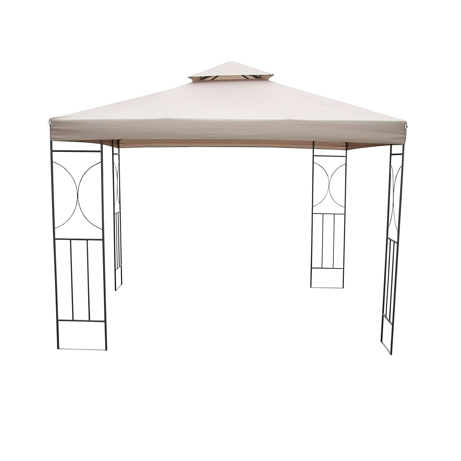 Greemotion 438550 Pavillon Jubilee 300 x 300 cm, sand