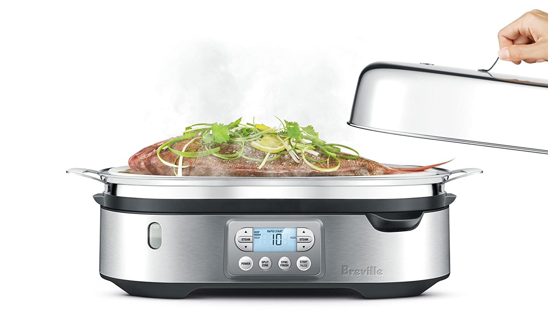 Amazon.com: Breville BFS800BSS Food Steamer, Silver: Kitchen & Dining