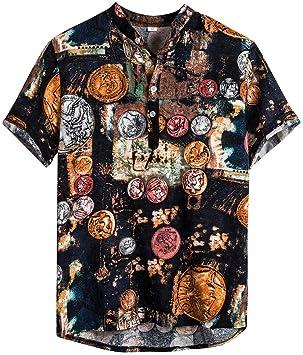 Camiseta de manga corta para hombre, talla grande, de Jaminy 2019 ...