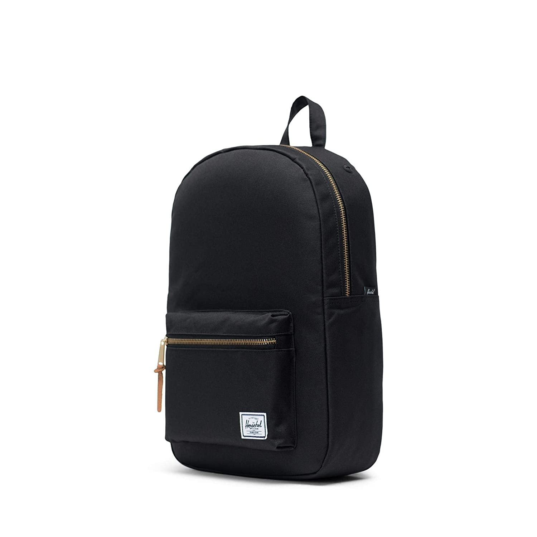 Amazon.com   Herschel Supply Settlement Mid-Volume Backpack, Black, One Size    Casual Daypacks 089eef2d29