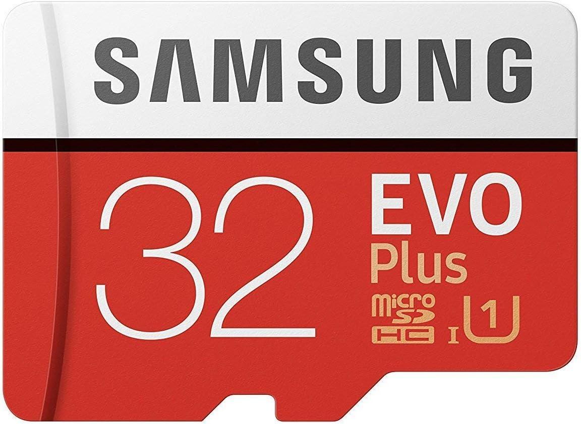 Samsung 32GB MicroSD EVO Plus Series 95MB/s (U1) Micro SDHC Memory Card with Adapter (MB-MC32GA) (2 Pack)