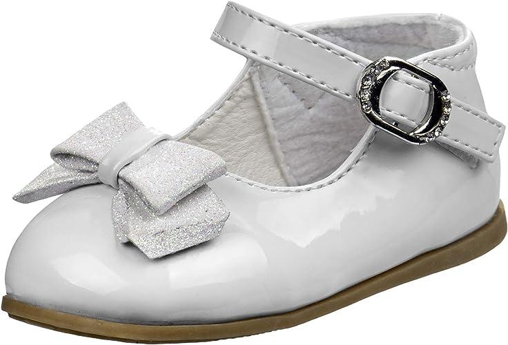 Josmo Baby Girls Dressy Shoe with Bow