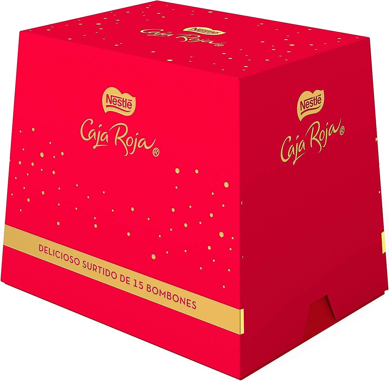 NESTLÉ CAJA ROJA Bombones de Chocolate - Cubo de bombones 150 g: Amazon.es: Alimentación y bebidas