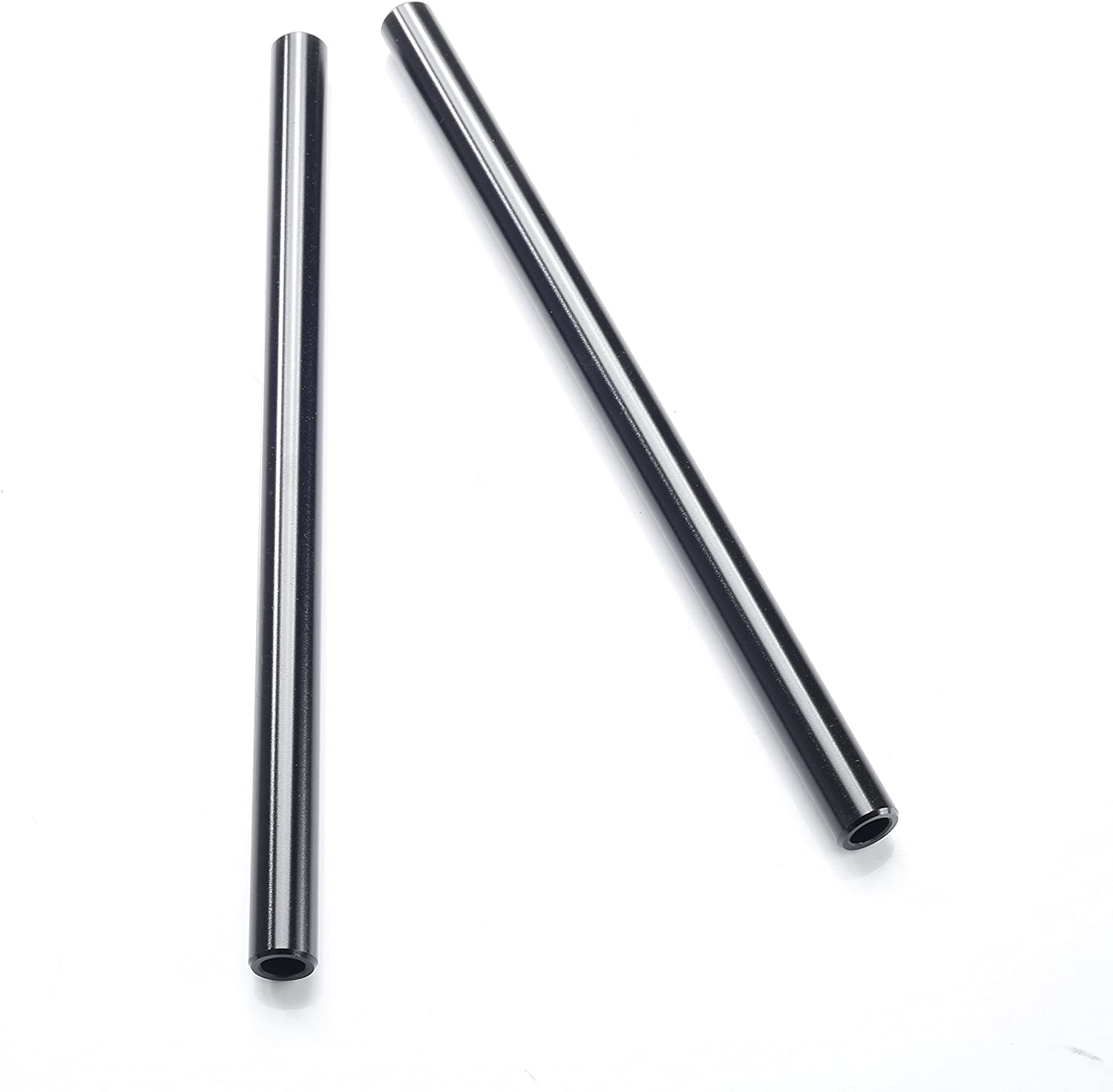 Movo Photo PT10 Set of Two Aluminum 15mm Rods for DSLR Camera Rail System 10