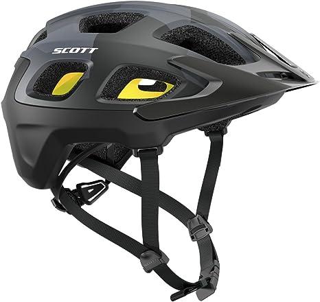 Casco para bicicleta de montaña Vivo Plus de Scott, Camo, negro, 2016, verano, Unisex, color schwarz (200), tamaño S (51-55cm): Amazon.es: Deportes y aire libre
