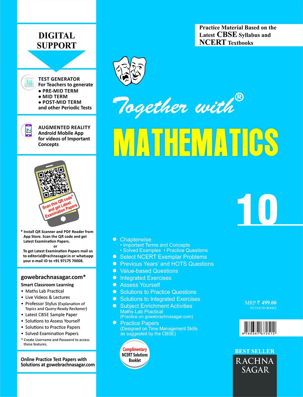 Together with CBSE/NCERT Practice Material Chapterwise for Class 10