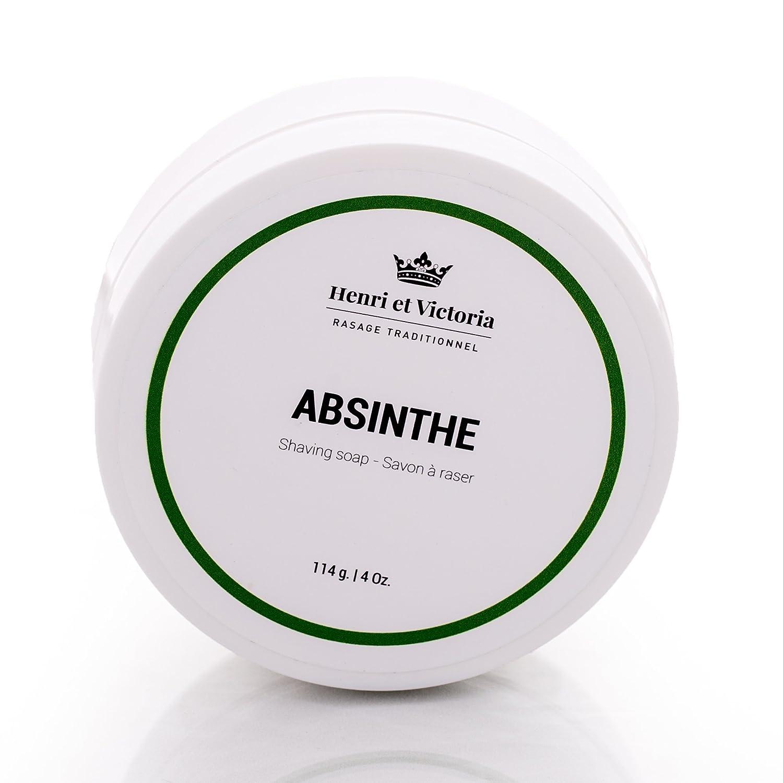 Absinthe - Shaving Soap - 114g Henri et Victoria inc