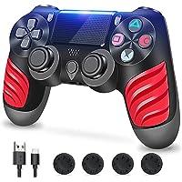 Zcity Mando PS4, Mando Inalámbrico para Playstation 4, Controlador Inalámbrico Gamepad Doble Vibración para Playstion 4…