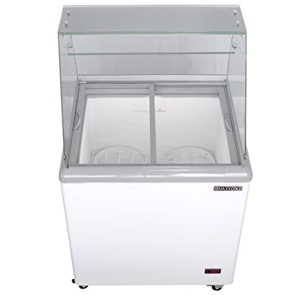 Delicieux Maxx Cold 4 Flavor 7.5 Cu Ft Commercial Ice Cream Dipping Cabinet Freezer