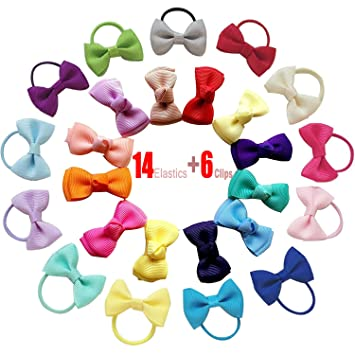 Bows Baby Hair Ties Kids Hair Tie Bands Hair Clips Bow-Knot Hairpin Ropes  Hair adead6b0b82