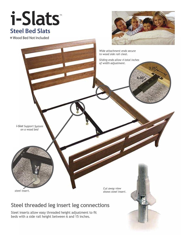 Amazon Com Knickerbocker Islats Steel Bed Slats Bed Frame
