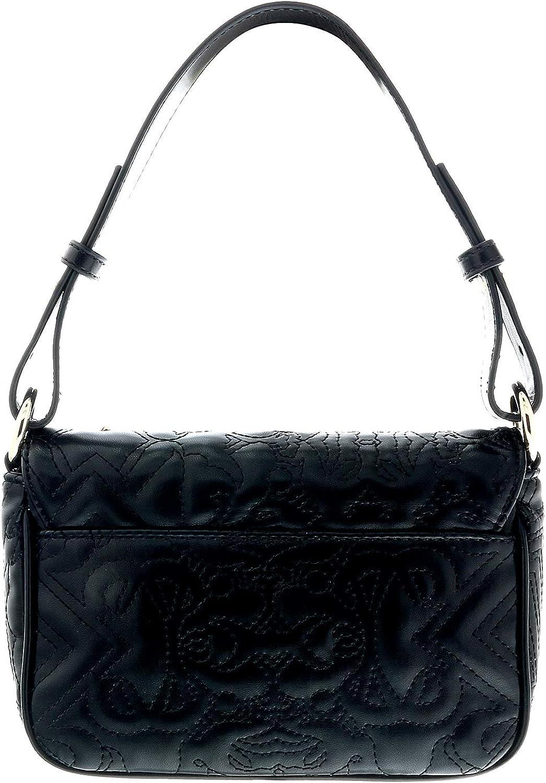 Versace Black Shoulder Bag-EE1VTBBZ1 E899 for Womens