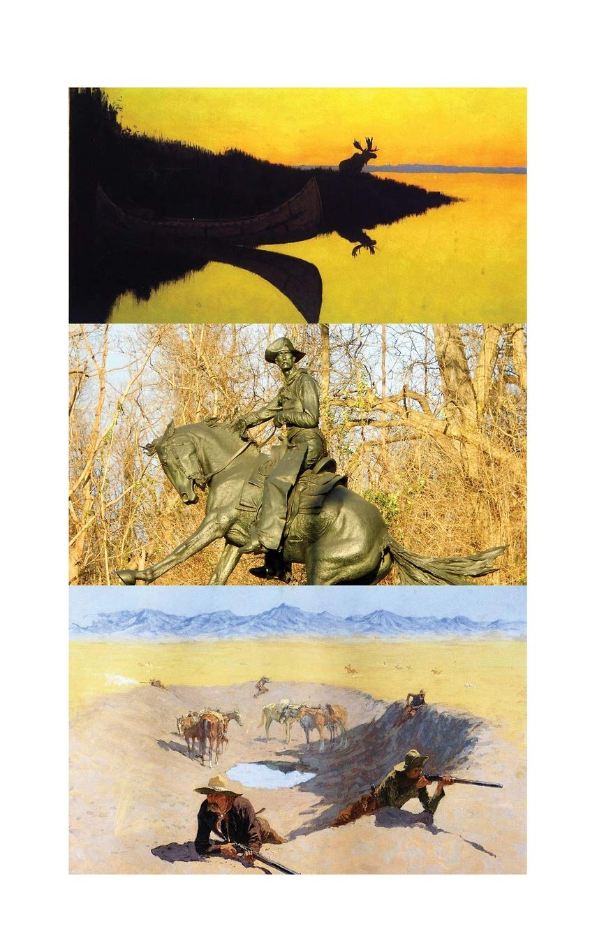 Hardcover Journal Collage Fredric Remington Cowboys and Indians Art 4 PDF