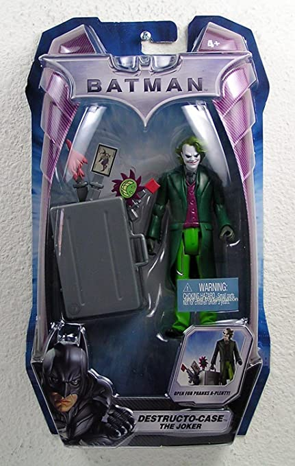 THE DARK KNIGHT BATMAN MOVIE DESTRUCTO-CASE THE JOKER