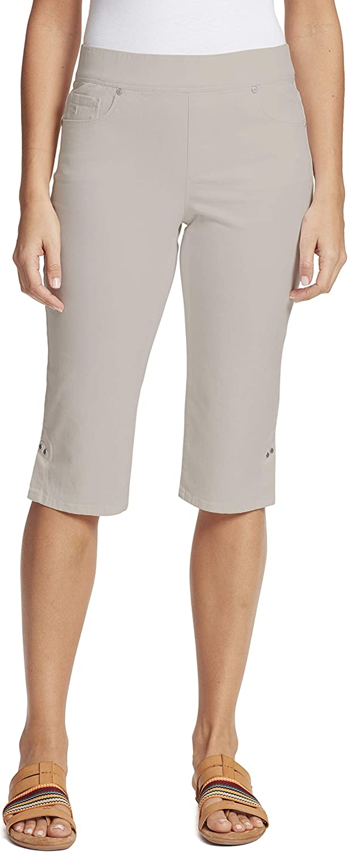 Gloria Vanderbilt Womens Avery Pull on Skimmer Short