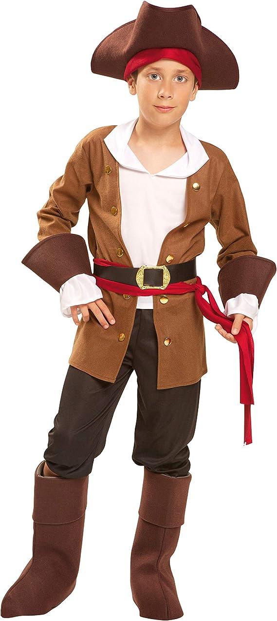 My Other Me Me-200606 Piratas Disfraz de Bucanero para niño, 7-9 ...