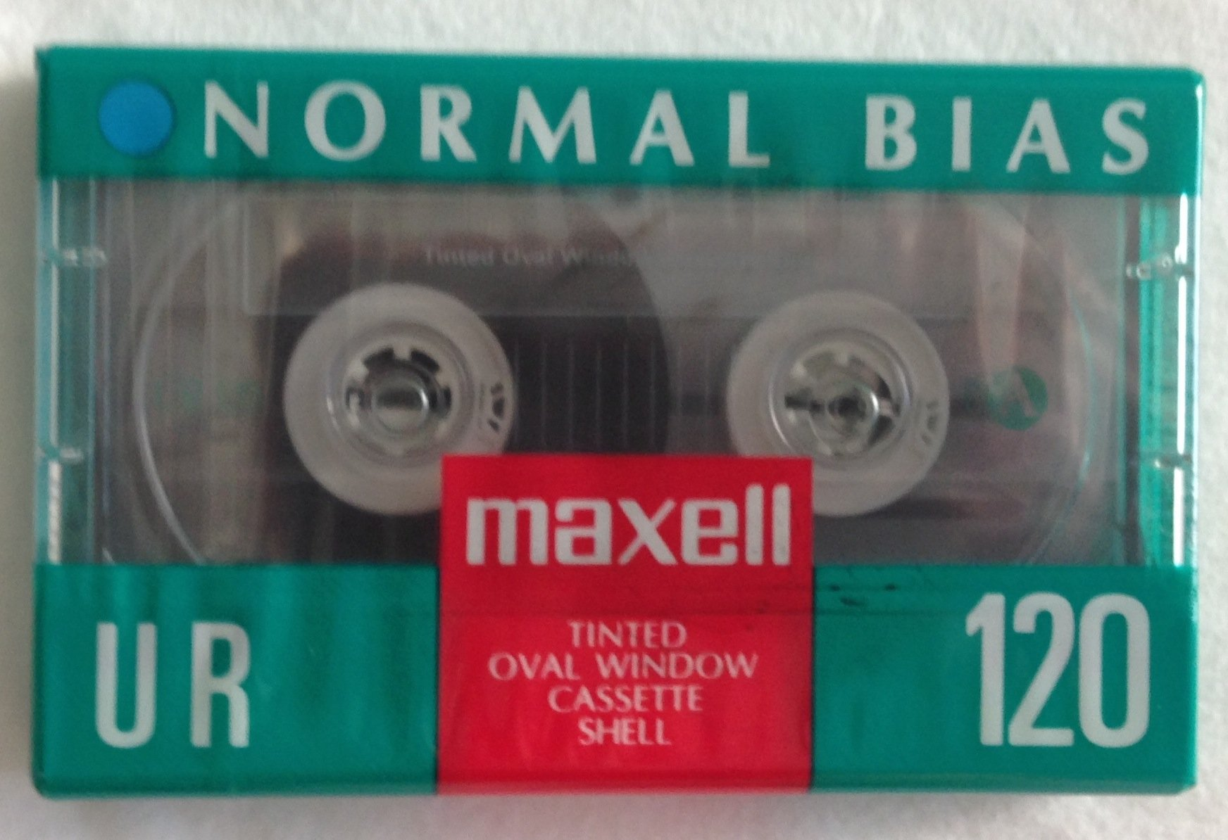 Maxell Normal Bias UR 120 Minute Cassette IEC Type I