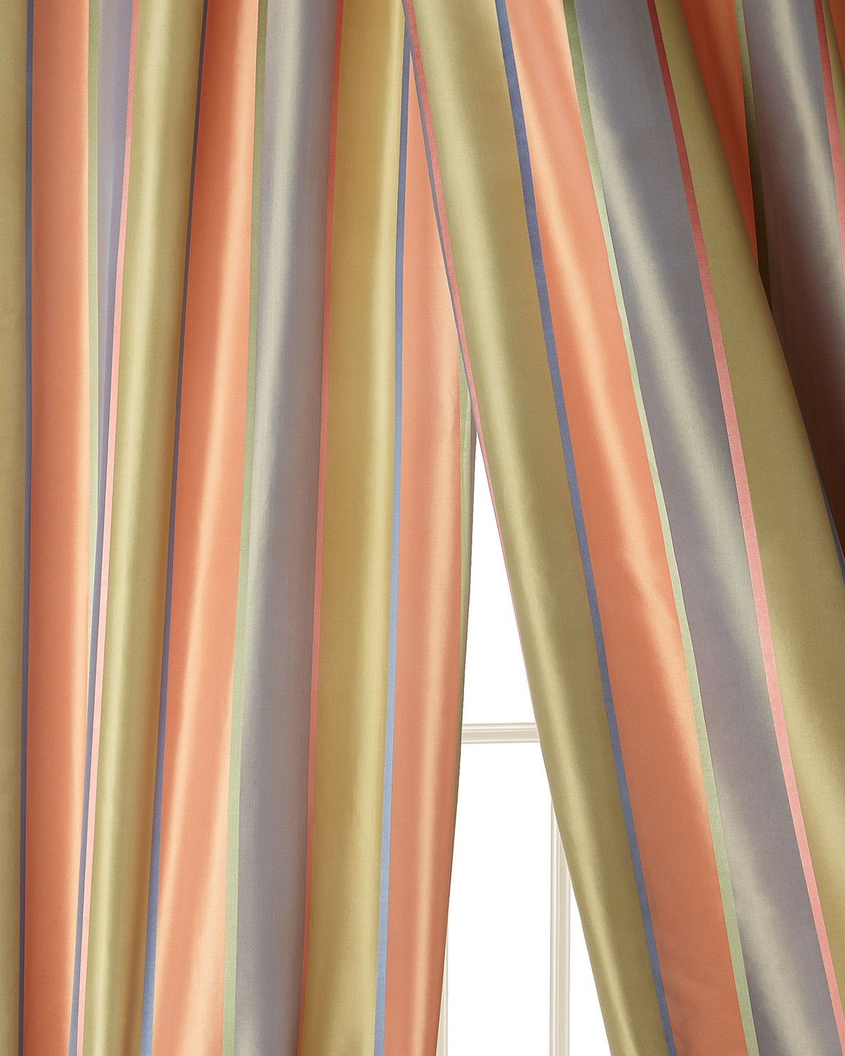 Image result for PEACH SATIN STRIPE CURTAIN