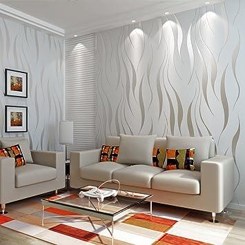 Vliestapete Moderne Minimalistische Tapeten Wasser Wellen Tapete 3d
