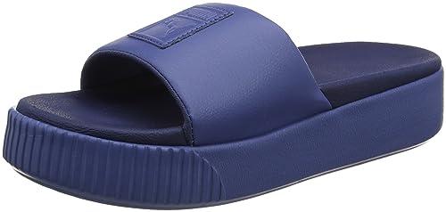 3ac0c948c7d2 Puma Women s Platform Slide WNS Sandals  Amazon.co.uk  Shoes   Bags