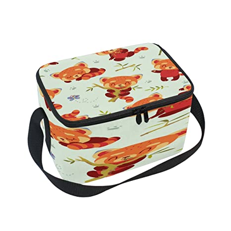 55465becc0 Image Unavailable. Image not available for. Color  Saobao Reusable  Insulated Lunch Box Tote ...