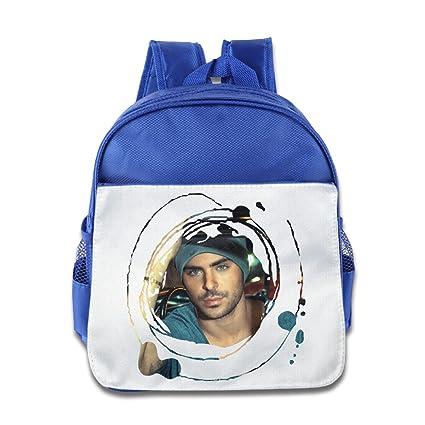 Amazon.com  POOZ Zac Efron Kids Children School Bagpack For Boys ... 19dcc876cc51e