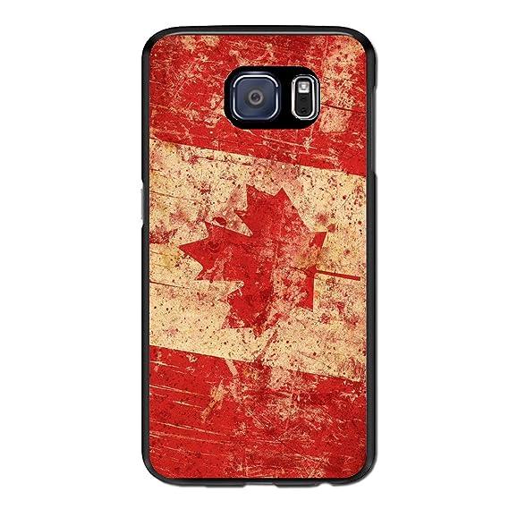 buy popular a9f10 0d038 Amazon.com: Retro Canada Flag Protective Sleeve for Samsung Galaxy ...