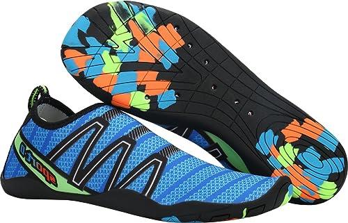 Gaatpot Aqua Zapatos Zapatillas Baño Deportivas de Agua Playa y Piscina  Escarpines Mar Calcetines Surf Vacaciones de Verano para Unisex Adulto   Amazon.es  ... 6c6df970be8