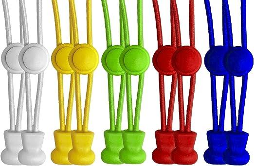 Lacets /élastiques plats avec fermoir de blocage par 55/Sport/®