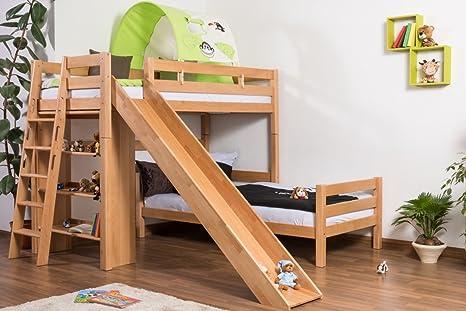 Rutsche Für Etagenbett : Doppelbett mit rutsche etagenbett