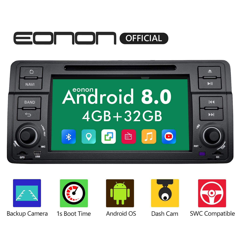 "For BMW E46 M3 320 325 9/""Car Radio Stereo GPS Sat Navi Bluetooth Touch CAM+OBD2"