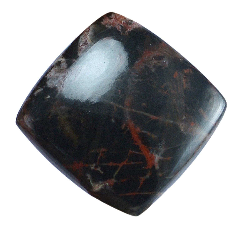 divineimpex 31.9 CTS Pilbara Jasper Square Cabochon Loose宝石pg-136128   B0771K8BHH