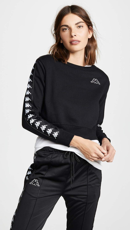 9d8c3567e48ae9 Kappa Women s Banda Crop Sweatshirt at Amazon Women s Clothing store