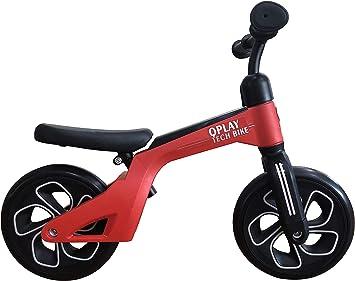 QPLAY Bicicleta de Equilibrio sin Pedales Tech Balance Trike Red ...