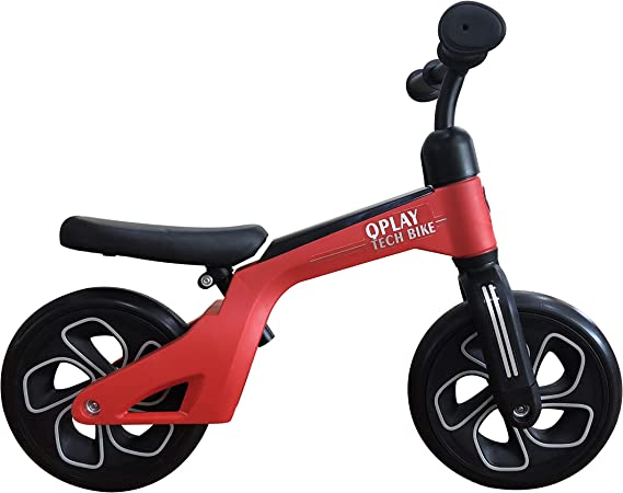 QPLAY Bicicleta de Equilibrio sin Pedales Tech Balance Trike Red ...