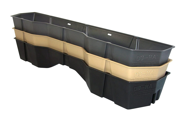 Part #40011 DU-HA Under Seat Storage Fits 04-15 Nissan Titan King Cab /& Crew Cab Dk Gray