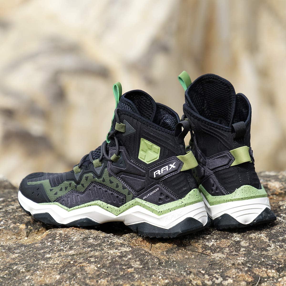 RAX Herren Outdoor Ventilation Trekking Wanderschuhe Camping Backpacking Schuhe Leichter Sneaker