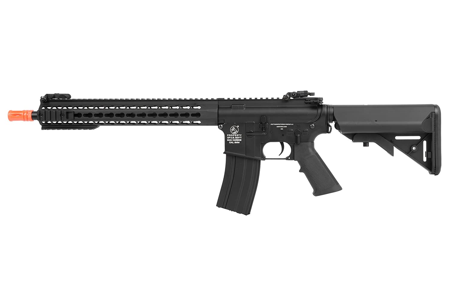 Amazon.com : Soft Air COLT M4 KeyMod Automatic Electric Airsoft Gun :  Sports & Outdoors