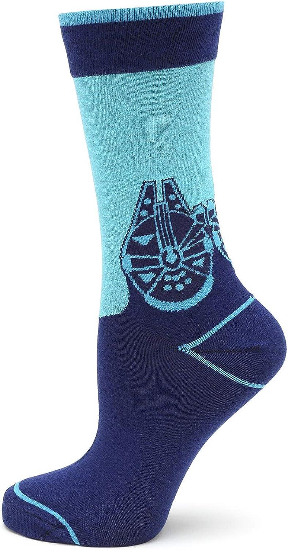 Millennium Falcon Mod Blue Socks