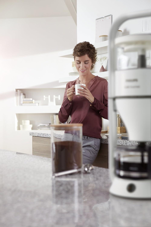 Philips coffee machine Café Gourmet HD5408/10 white Fassungsvermögen Tassen=12