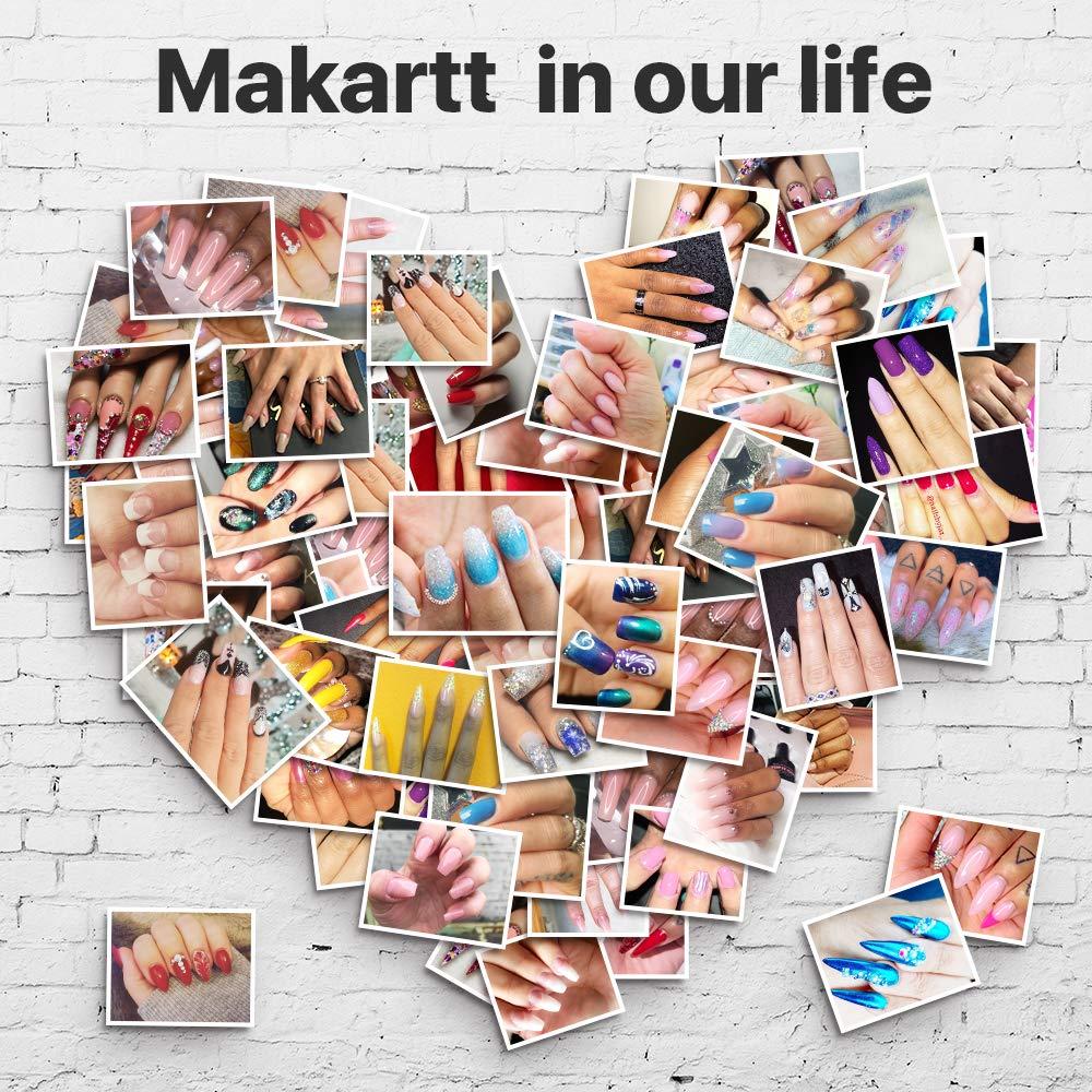 Makartt P-21 Clear Poly Nail Gel 50ML 1.76oz Builder Gel Nail Extension Gel Nail Enhancement by Makartt