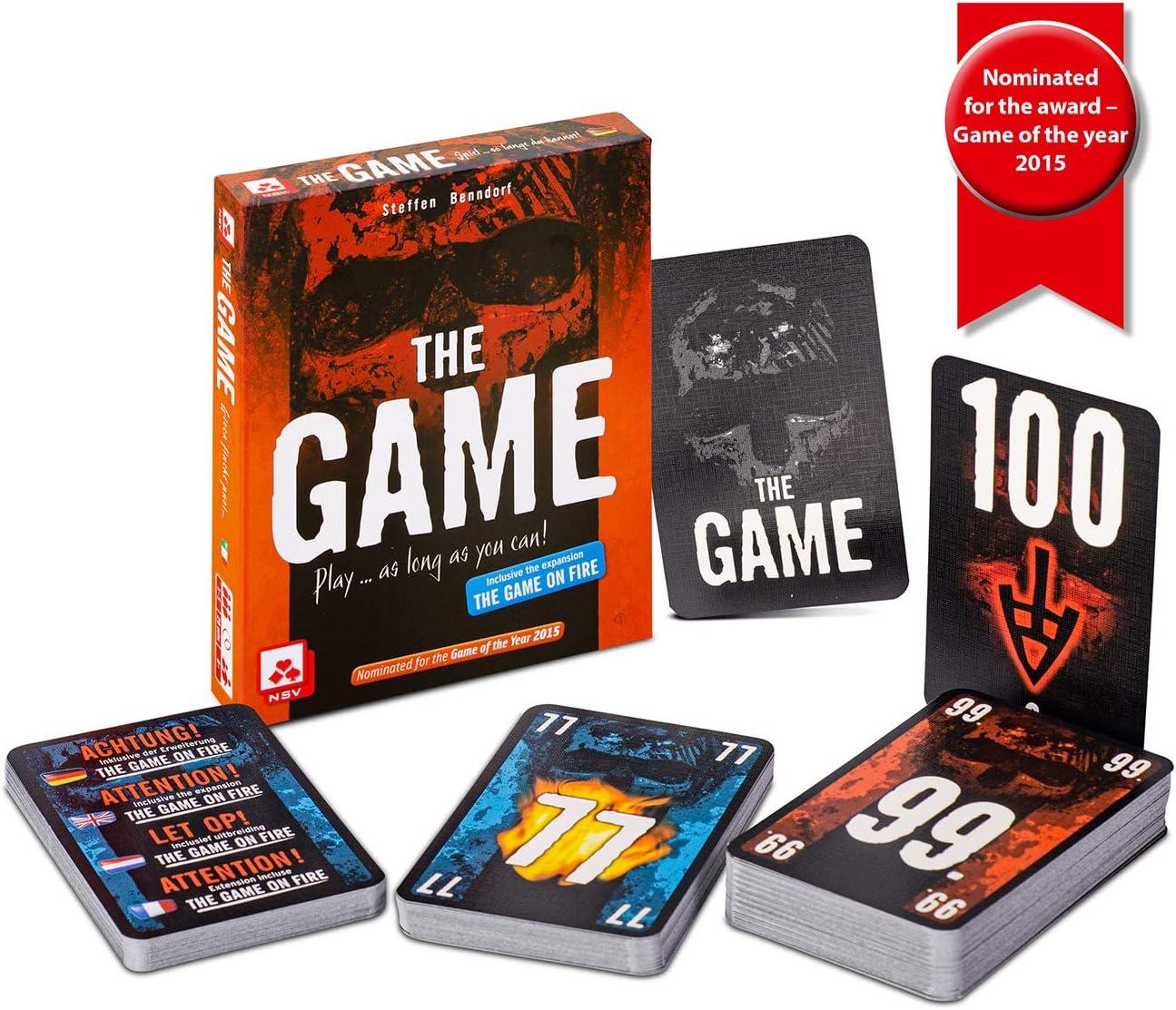 NSV - 4074 - The Game - International - Juego de Cartas: Amazon.es: Juguetes y juegos