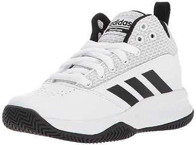 best service a0e4f e7274 adidas Unisex-Kids Cloudfoam Ilation 2.0, White Core Black Grey, 1